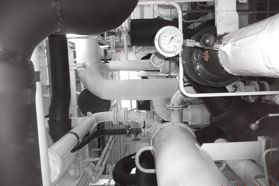 INSULATION OF COOLING & STEAM NETWORKS