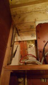 Sound insulation at stabilizer