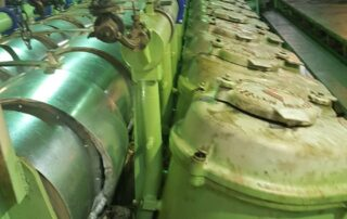 Insulation of main engine