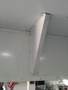 Metallic suspended ceiling ALU