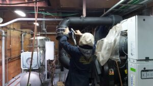 Insulation of cooling networks in engine room!